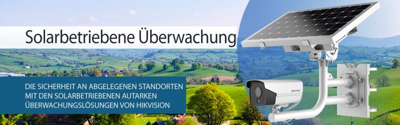 Hikvision Solar Kamera Lösung